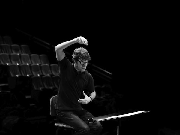 Pablo Heras-Casado, from the 2012 Lucerne Festival. Photo by Jean Radel.