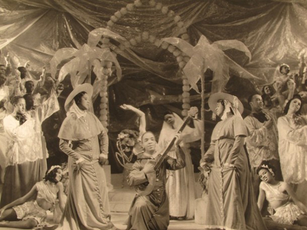 The Original Production of Virgil Thomson and Gertrude Stein's Four Saints in Three Acts.