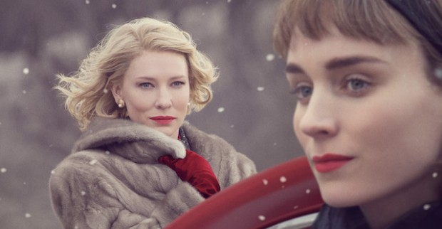 Cate Blanchett as Carol Aird and Rooney Mara as Therese Believe in Todd Haynes' Carol