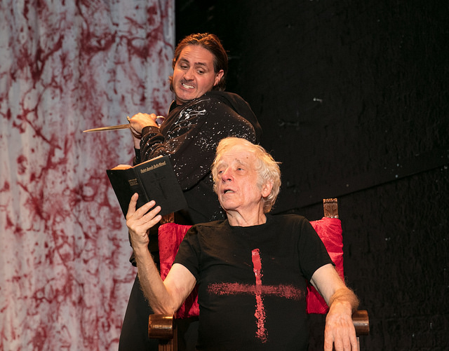 The Wars of the Roses (Shakespeare's, Henry VI, Part 3 and Richard III), directed by Austin Pendleton, starring Matt de Rogatis, at the 124 Bank Street Theater—Closing  August 19th