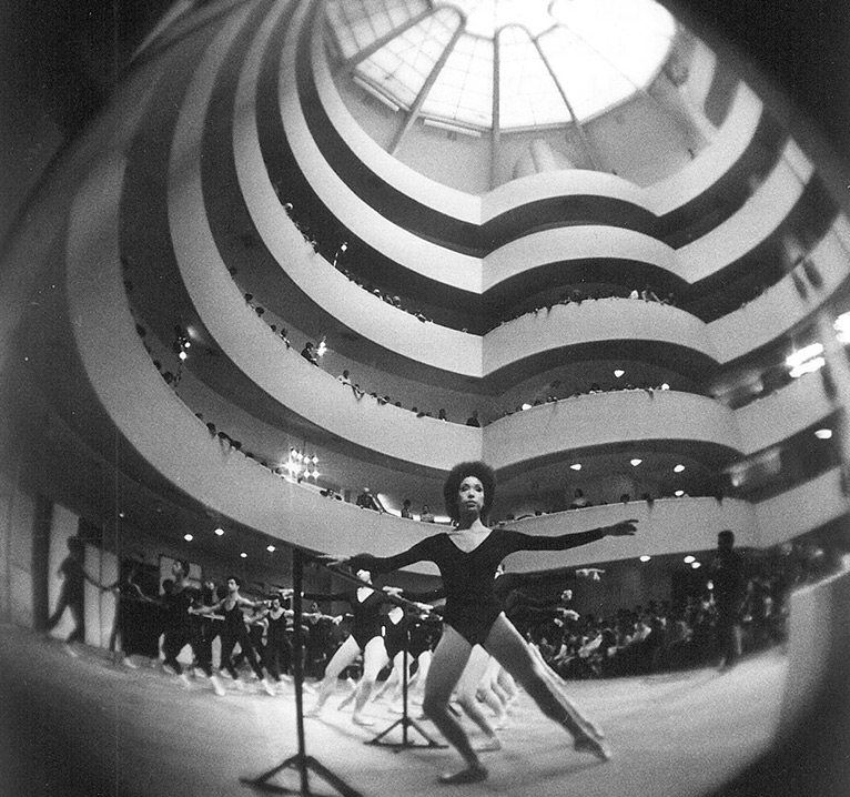 Works & Process Rotunda Project at the Guggenheim: Dance Theater of Harlem at 50