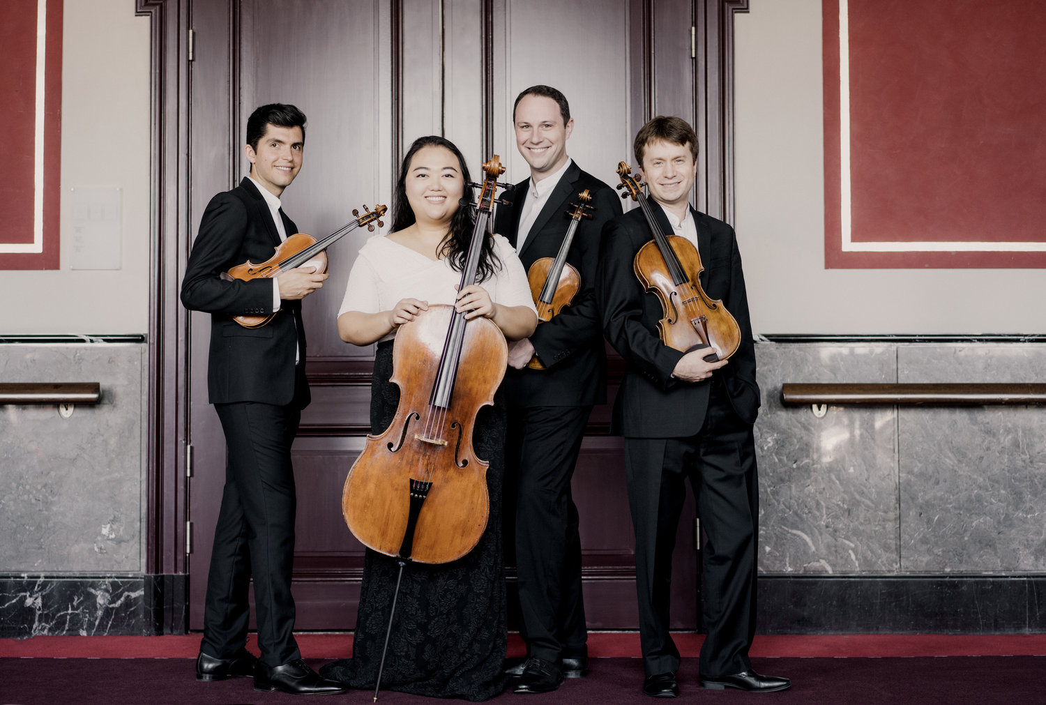 Public Concerts Resume at PS21 in Chatham, New York—Second Concert: Beethoven by the Calidore String Quartet