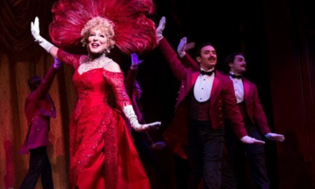 Bette Midler shares pic of herself in Broadway revival of Hello Dolly!