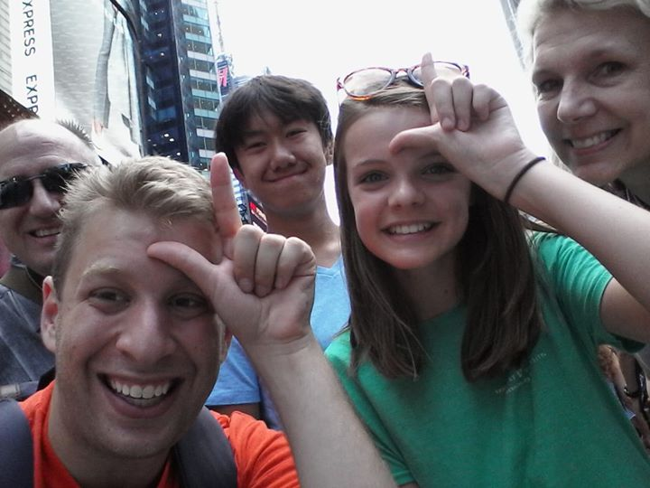 After Broadway In Bryant Park Day 1, it was back to work. We had a fun GLEEKS on Broa