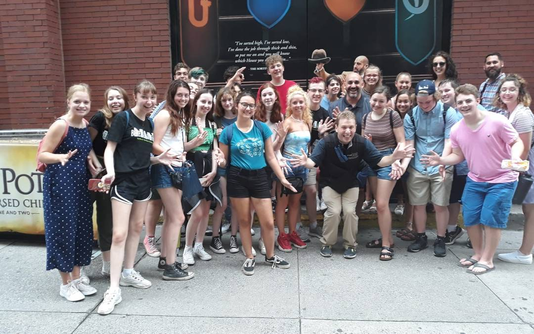 Following today's Broadway in Bryant Park, we had a fun time on our BROADWAY 101 Walk