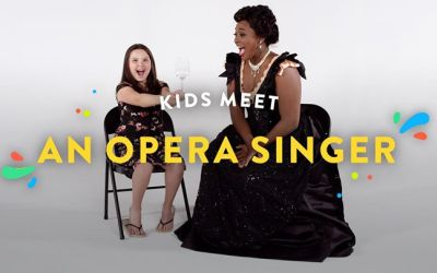 Kids Meet an Opera Singer | Kids Meet