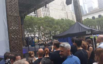 More from WEEK 2 of Broadway in Bryant Park