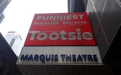 ON THE MARQUEE: Audiences are laughing and raving for this year's 2 time Tony wi