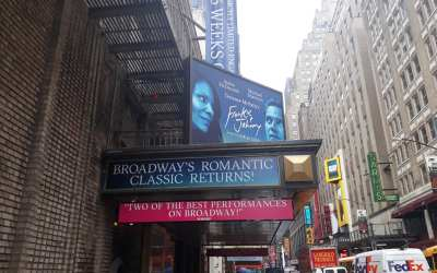 ON THE MARQUEE: Broadway is taken on the ultimate date of a lifetime in the current r