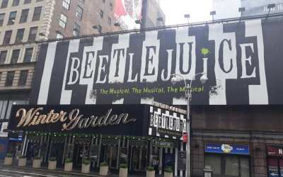 ON THE MARQUEE: He may  have not recited any Tony Awards this year but people are pac
