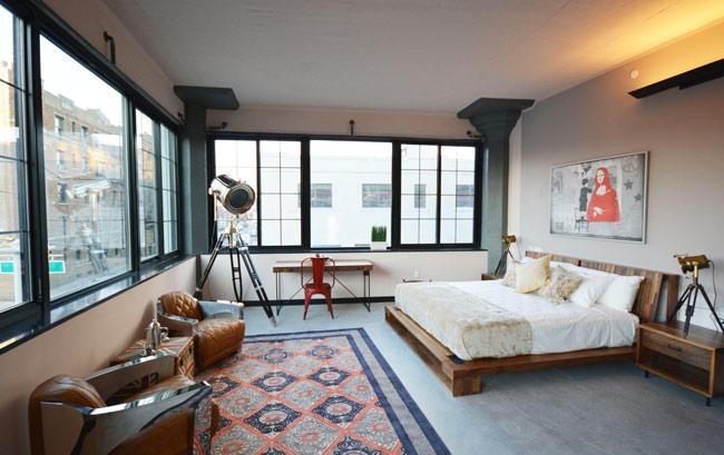 Izba v hoteli Paper Factory v Brooklyne