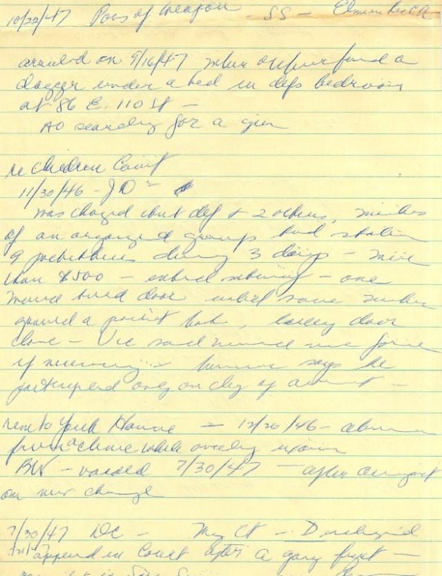 DA Notes on Member of Seven Saints Gang, Angelo Vizcarrondo