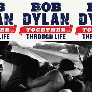 "Bob Dylan cover art on 2009 album ""Together for Life"""