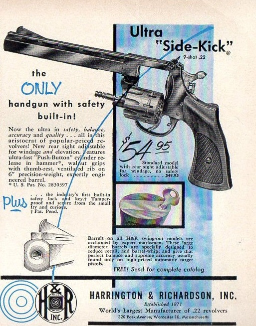 Harrington & Richardson Revolver Ad