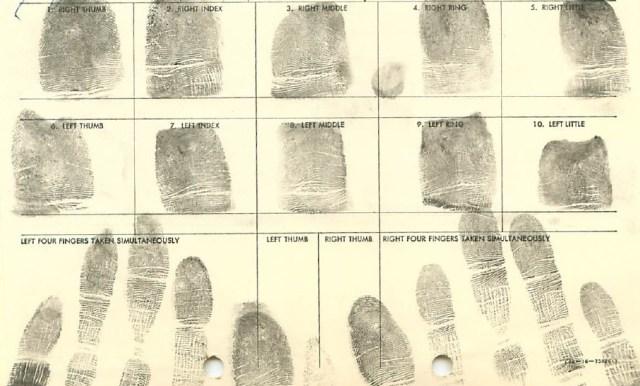 JM Fingerprint Card