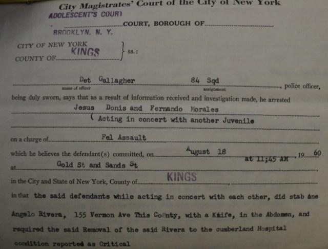 Affidvait in Mau Maus & Suicide Assault 1960