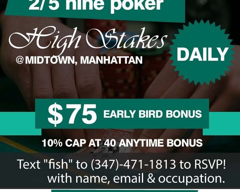 Poker Games: 5th September, 2015 Saturday