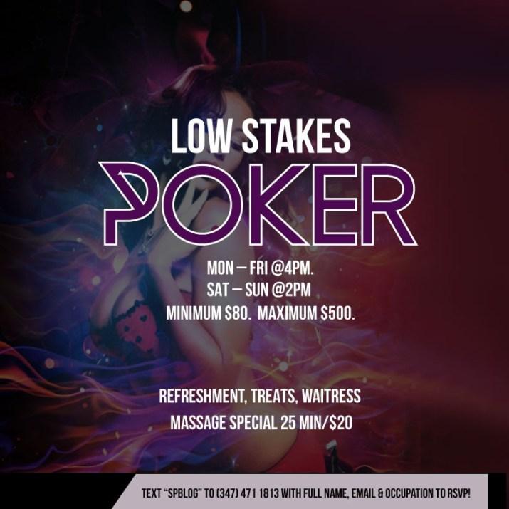 No Limit holdem Poker Midtown, Manhattan.