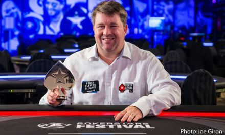 Chris Moneymaker is enjoying PokerStars' return to New Jersey, prospering both online and live.