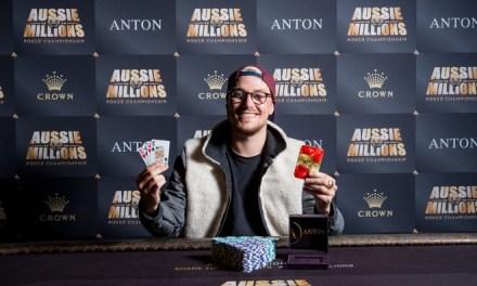 Espen Solaas Wins the Aussie Millions $5,000 Pot Limit Omaha (AUD$100,815)