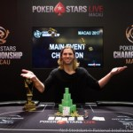Elliot Smith Wins PokerStars Championship Macau Main Event for HK$2,877,500
