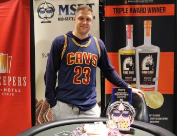 Chris Meyers Wins Largest Poker Tournament in Michigan History, Grabs Lead in MSPT Player of the Year Race