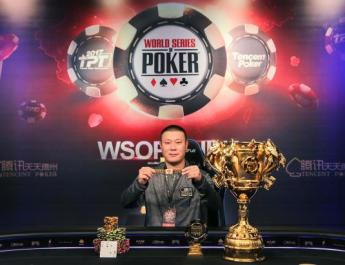 Zhou Yun Peng Wins WSOP China Main Event For $367,000