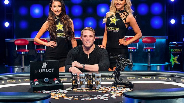 Alex Foxen Wins 2018 L.A. Poker Classic Rockstar Energy $25,000 High Roller