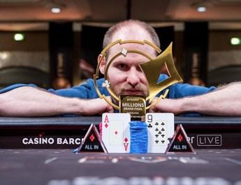 Sam Greenwood Wins partypoker LIVE MILLIONS Grand Final Barcelona €50,000 Super High Roller