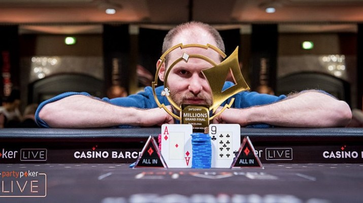 Sam Greenwood Wins partypoker LIVE MILLIONS Grand Final Barcelona €50,000 Super High Roller