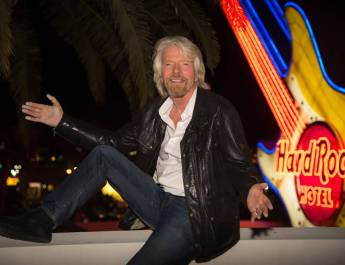 Richard Branson, Partners Buy Las Vegas Hard Rock Hotel and Casino