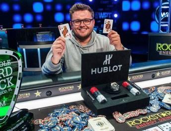 Scott Margereson Wins 2018 World Poker Tour Seminole Hard Rock Poker Showdown