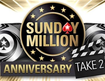 Book your seat in the $10 million guaranteed Sunday Million Anniversary... Take 2