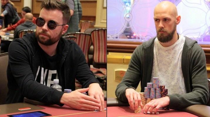 2018 Card Player Poker Tour Venetian DeepStack Championship Poker Series Main Event: Ben Jones and Stephen Chidwick Lead Final 15