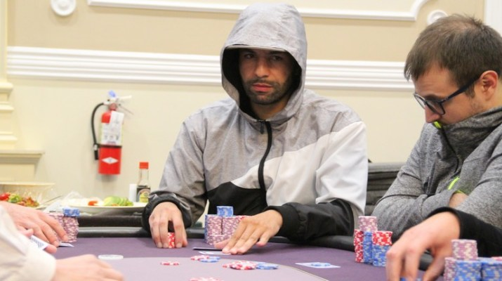 Said El Harrak Leads Final 16 In Card Player Poker Tour Big Poker Oktober Main Event