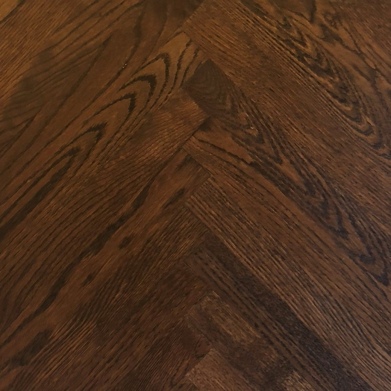 Red Oak Herringbone