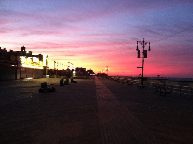coney island sunrise