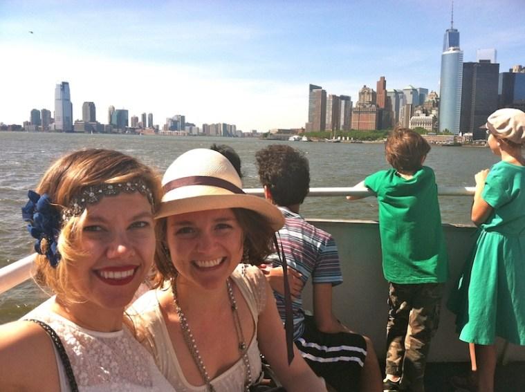 governor's island ferry ride