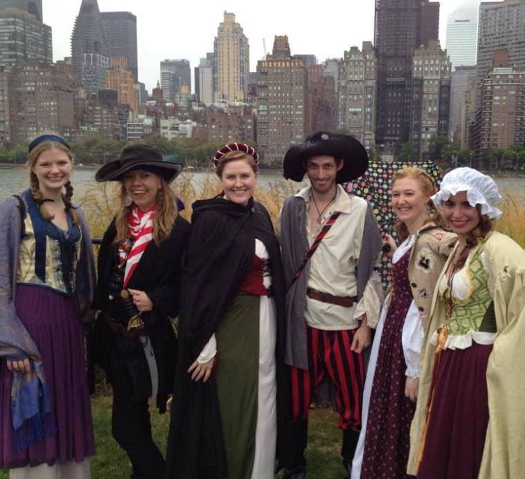 by the mummers roosevelt-island