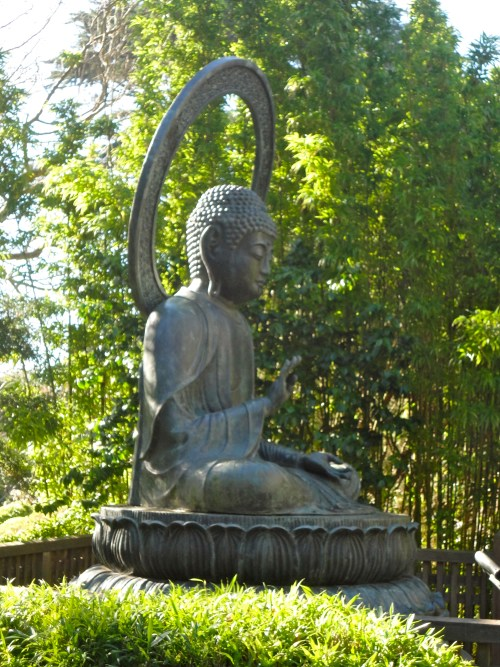 japanese tea garden SF buddha