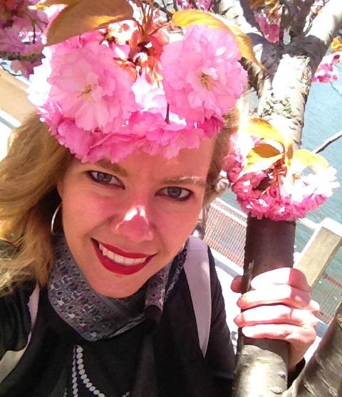 cherry-blossom-selfie