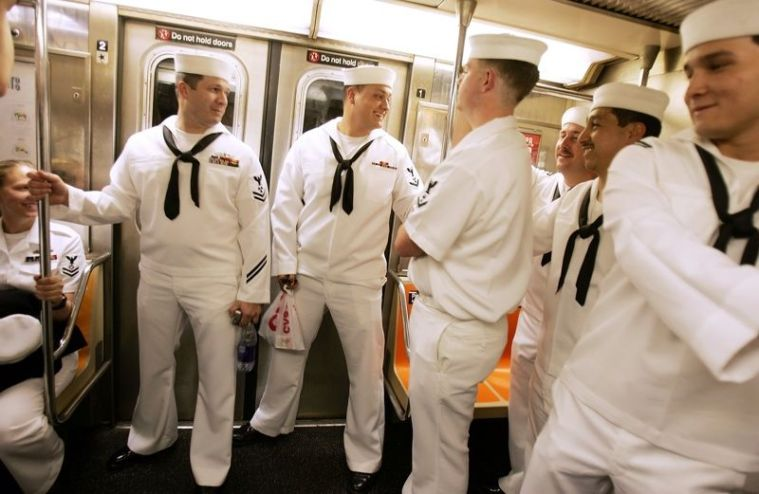 fleet week nyc subway