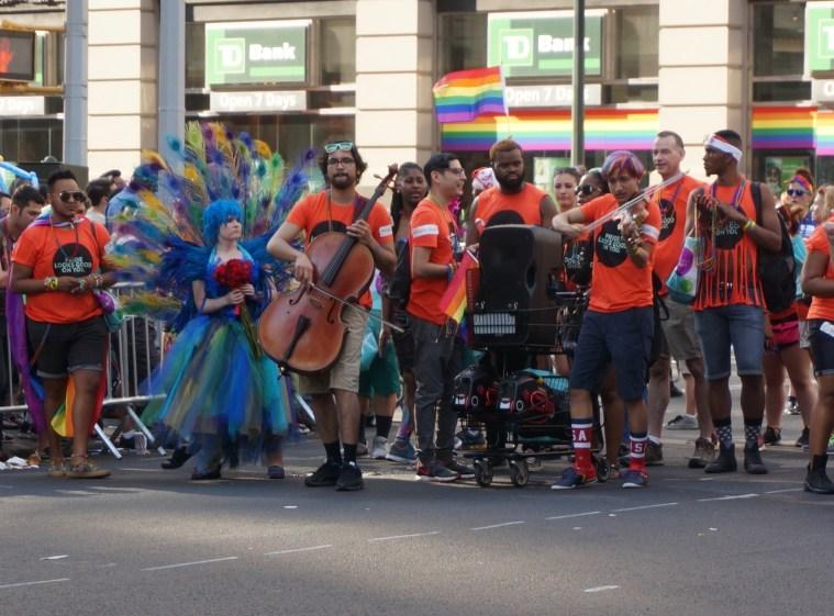 NYC Pride 2016 orchestra