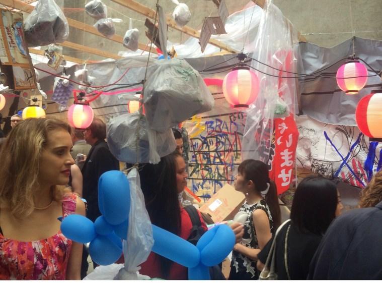 chelsea gallery opening