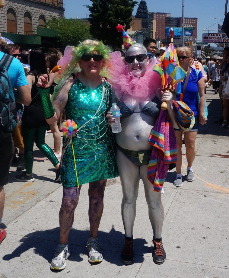 coney island mermaid parade 3