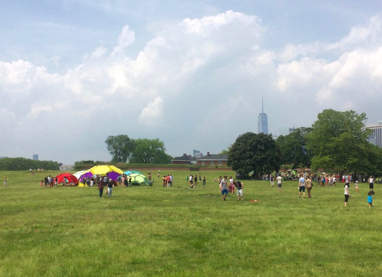 governors island lawn