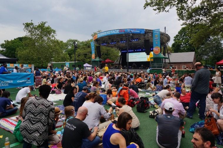 summerstage central park