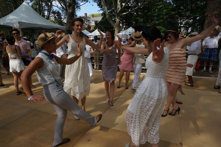 jazz age lawn party dance floor