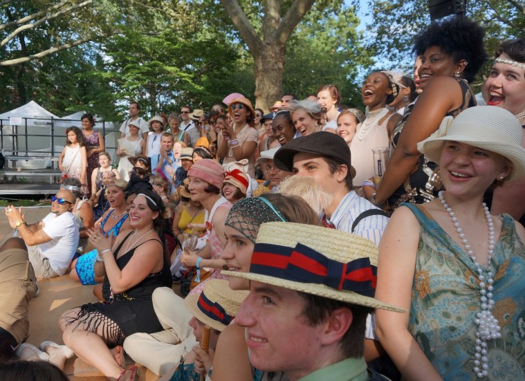 jazz age lawn party group photo
