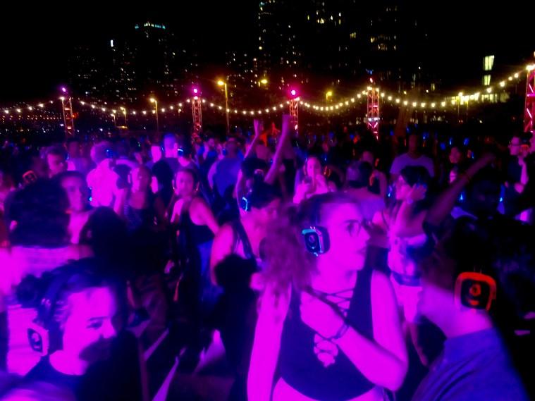 silent disco dance
